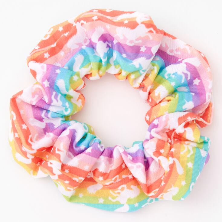 Rainbow Unicorn Hair Scrunchie,