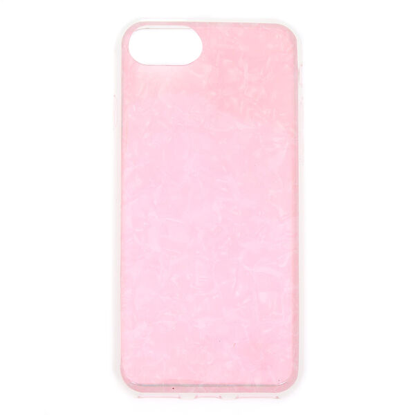 Claire's - iridescent shell phone case - 1