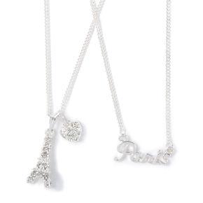Paris Charm Necklace,