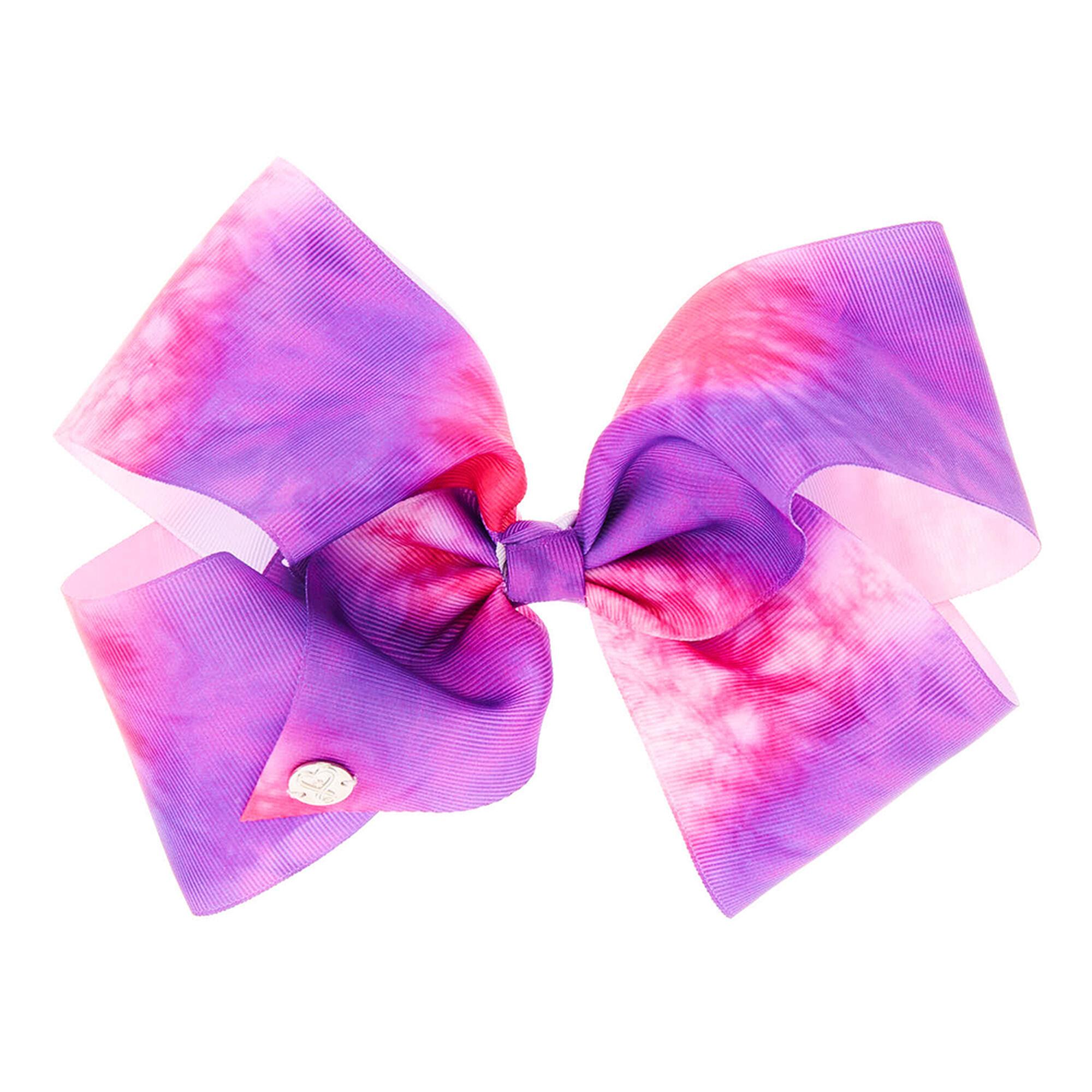 Jojo Siwa Pink Purple Tie Dye Hair Bow