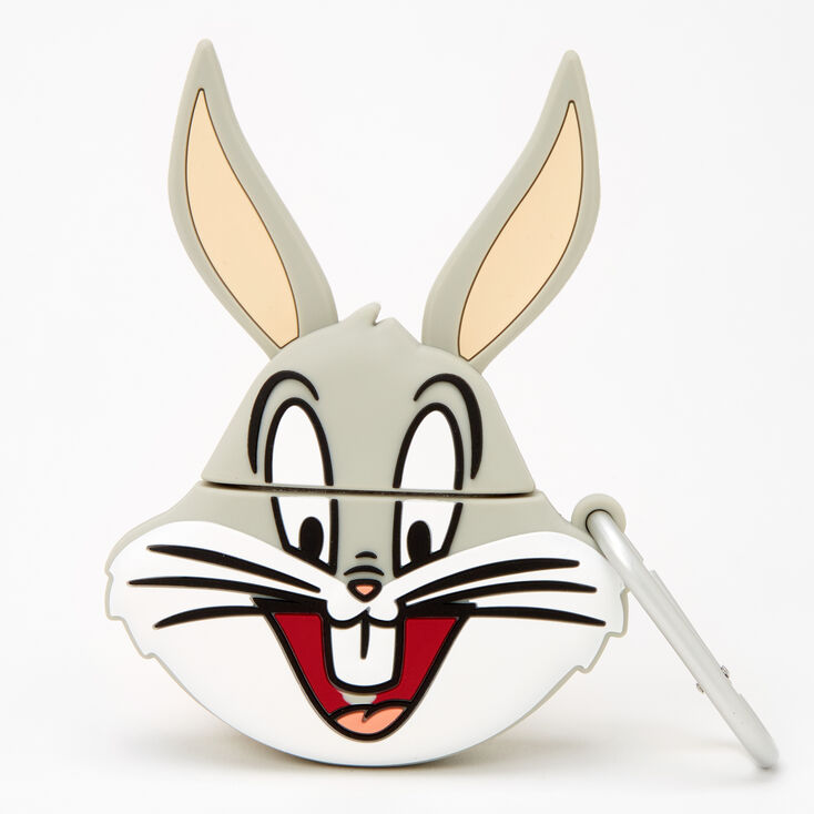 Looney Tunes™ Bugs Bunny Silicone Earbud Case Cover - Compatible with Apple AirPods,