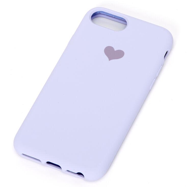 Lavender Heart Phone Case - Fits iPhone 6/7/8/SE,