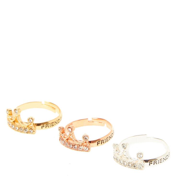 Best Friends Crown Rings,