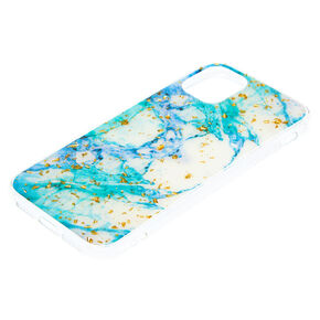 Marbled Gold Flake Phone Case - Fits iPhone 11,