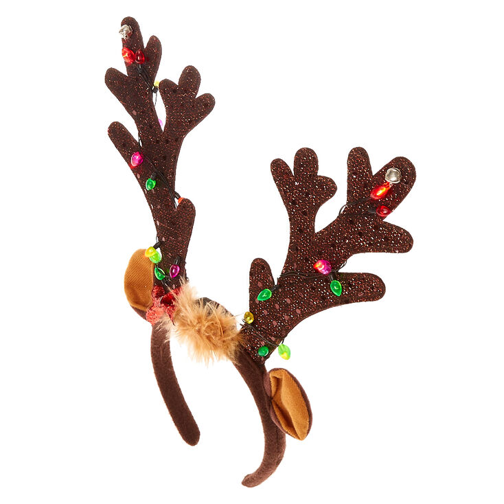 22+ Christmas Antlers With Bow PNG