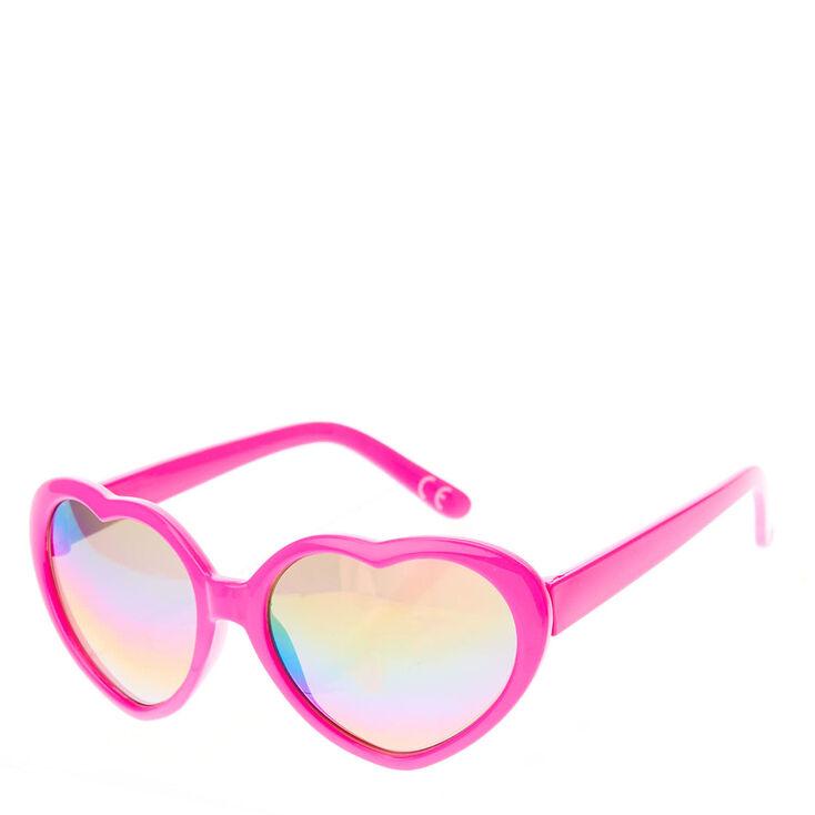 lunettes de soleil avec monture c ur rose pour enfants claire 39 s fr. Black Bedroom Furniture Sets. Home Design Ideas