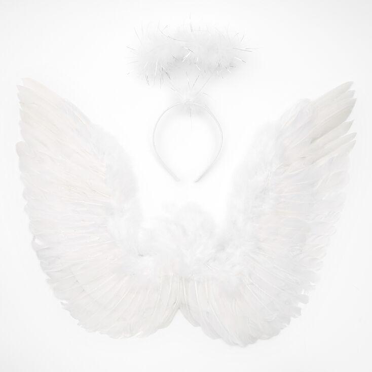 Angel Dress Up Set - White, 2 Pack,