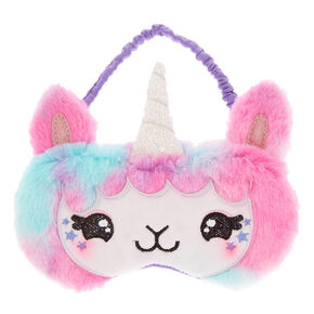Lala the Llamacorn Pastel Sleeping Mask,