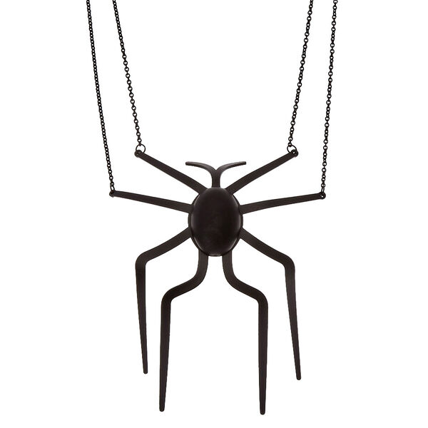 Claire's - large spider necklace - 1