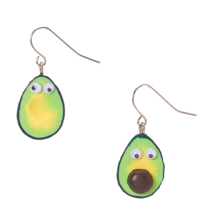Avocado Drop Earrings