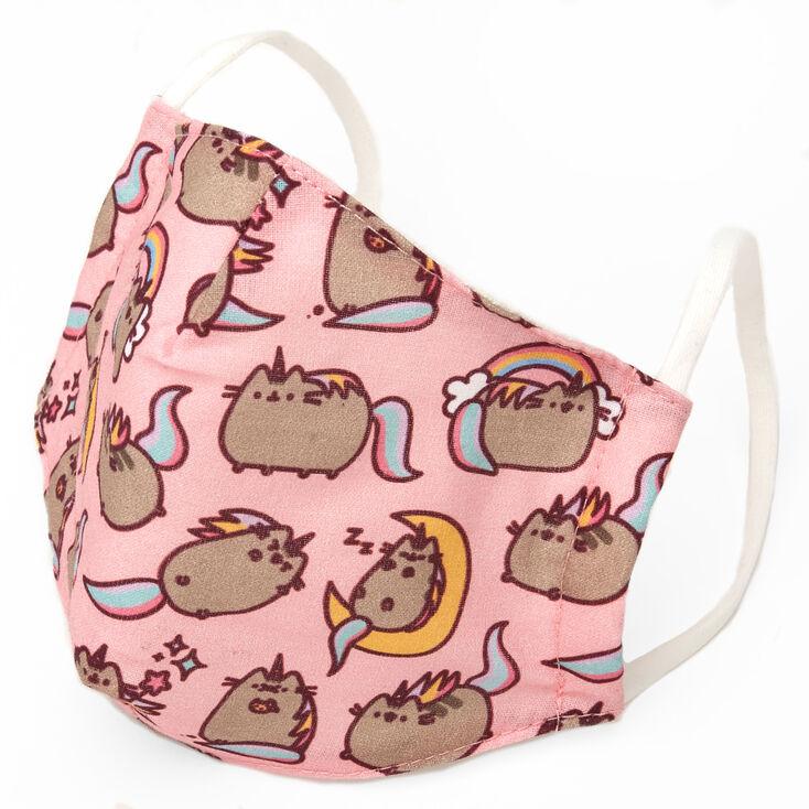 Pusheen™ Cloth Face Mask – Pink, Child medium/large,