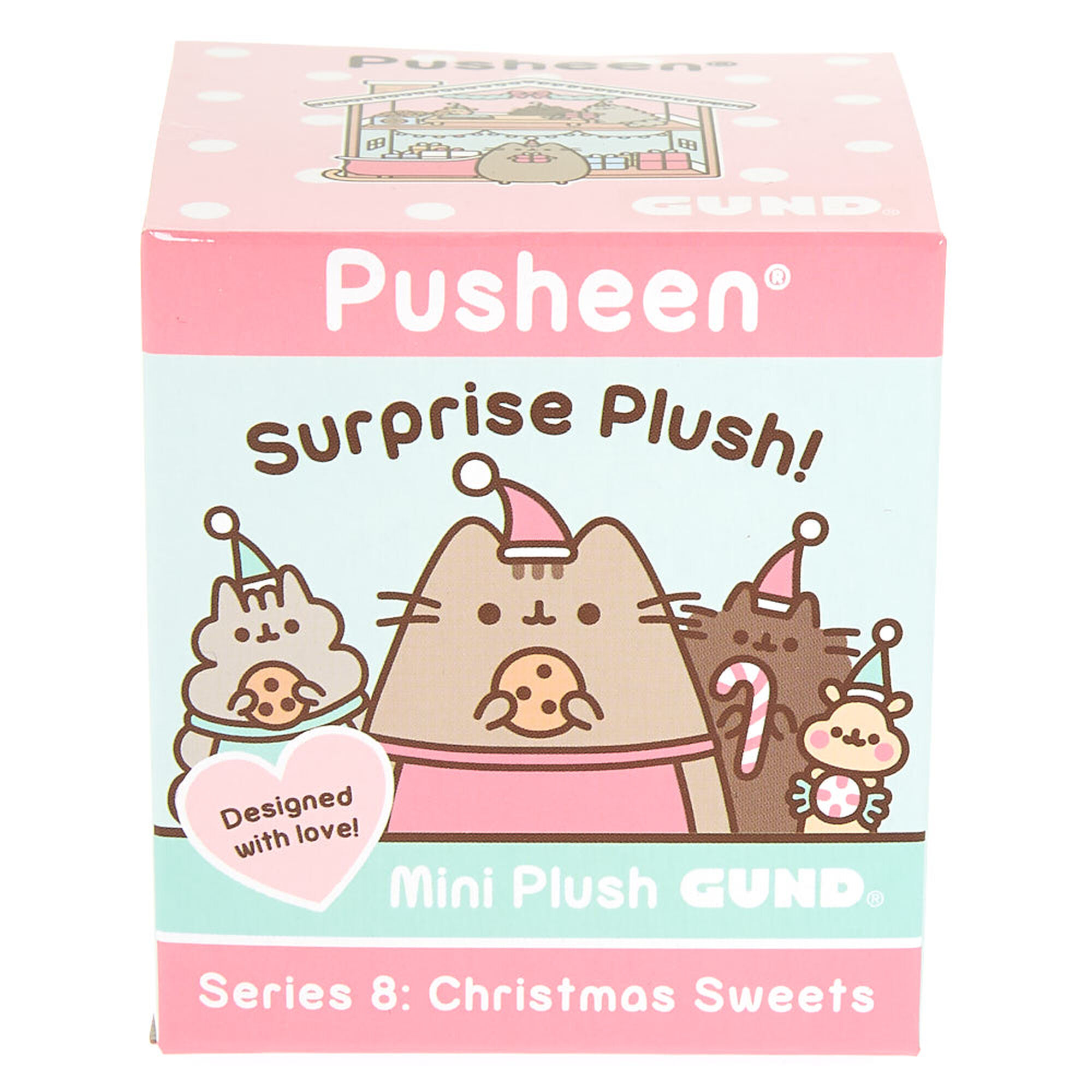 Pusheen Holiday Open Blind Box Series #8 Christmas Pusheen Hot Cocoa