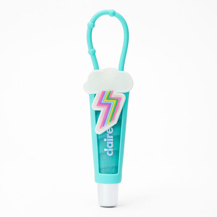 Rainbow Lightning Bolt Lip Gloss Tube - Vanilla,