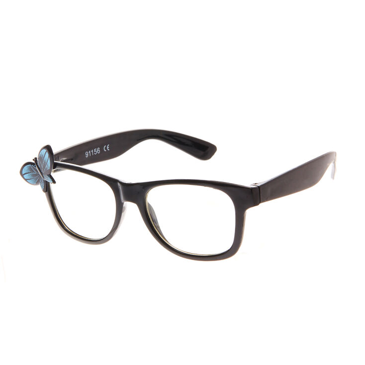 Kids Black Butterfly Frame Glasses | Claire\'s