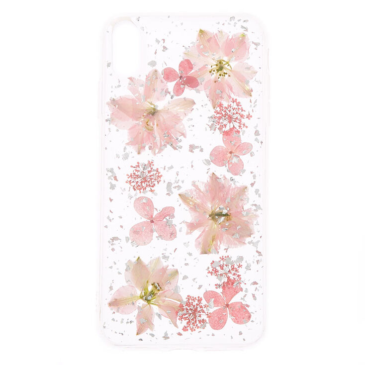 Clear Pressed Flower Phone Case Fits Iphone Xs Max