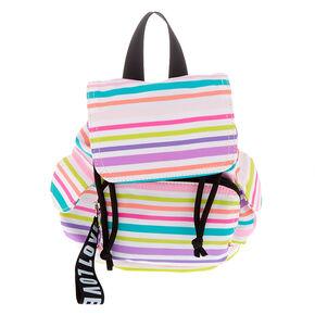 4a9401feeea Pastel Rainbow Striped Mini Backpack
