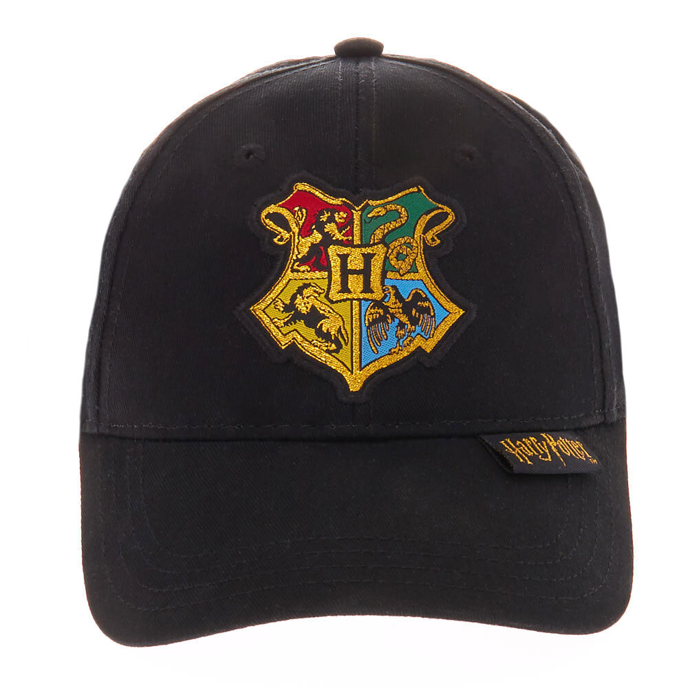 Harry Potter Girls Hogwarts Baseball Cap One Size Black