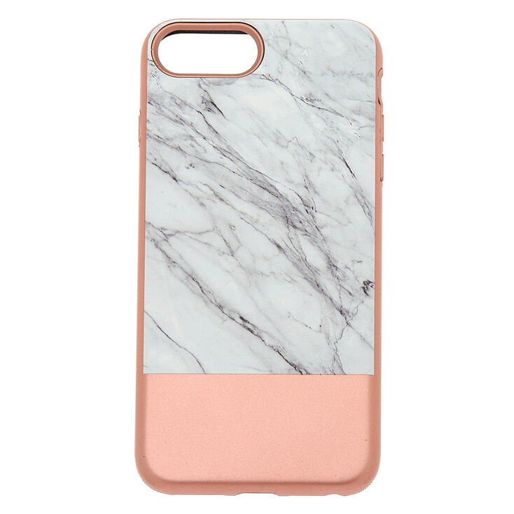 Rose Gold and Marble Protective Phone Case  a9d51da0e1