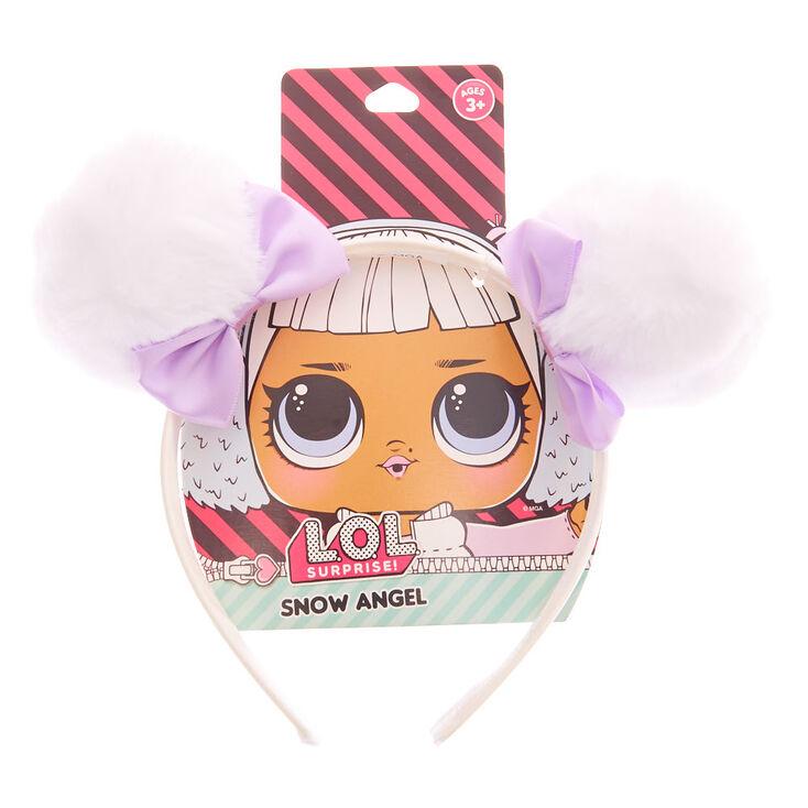 L O L Surprise Snow Angel Spacebuns Headband White Claire S