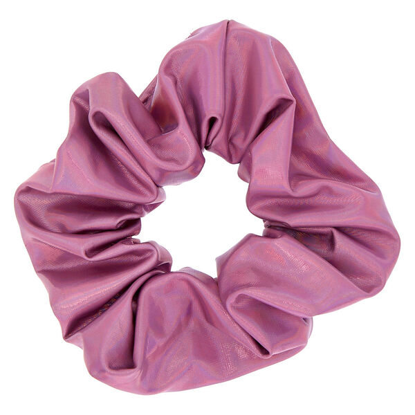 Claire's - holographic hair scrunchie - 1