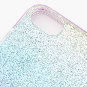 Pastel Glitter Ombre Phone Case - Fits iPhone 6/7/8 SE,