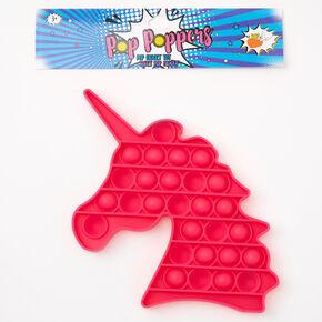 Pop Poppers Unicorn Fidget Toy - Pink,
