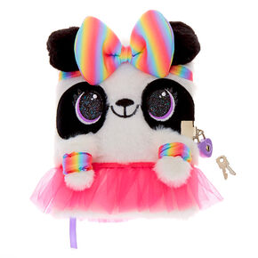 Zoey the Panda Dress Up Soft Lock Diary,