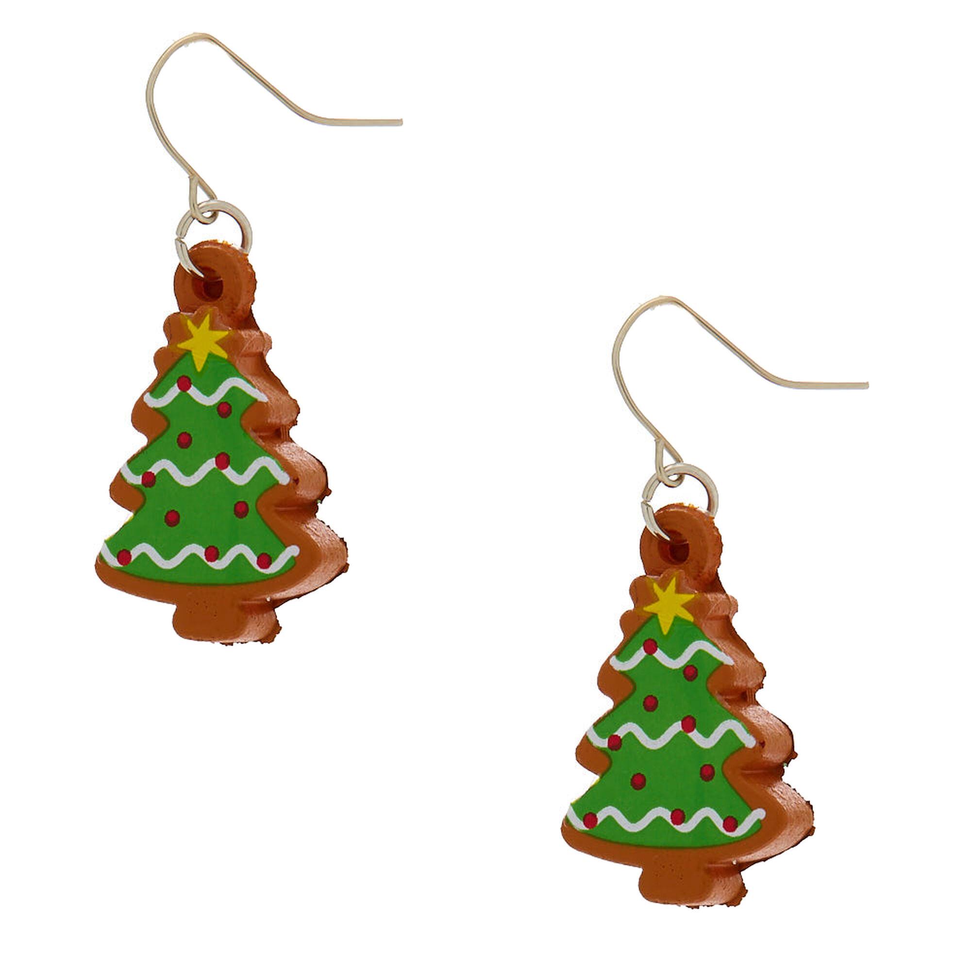 6090b5339c01c Christmas Tree Squish Drop Earrings