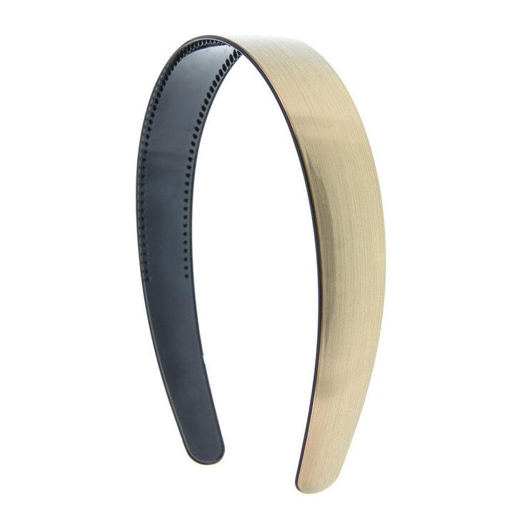 Brushed Metallic Headband - Bronze,