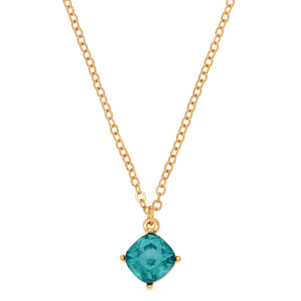 Claire's - december birthstone pendant necklace - 1