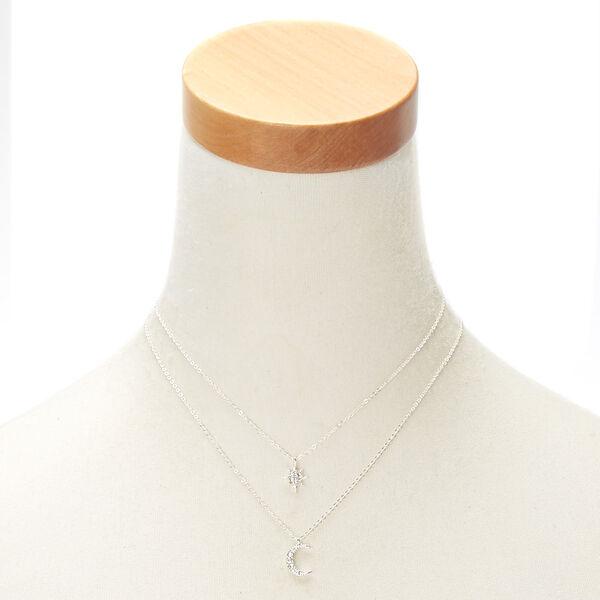 Claire's - celestial pendant necklaces - 2