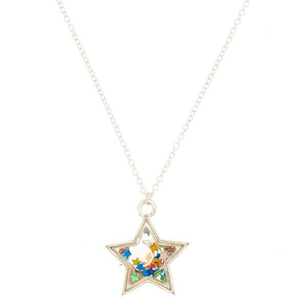 Claire's - cosmic shaker pendant necklace - 1