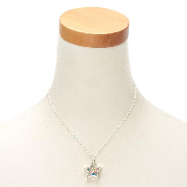 Claire's - cosmic shaker pendant necklace - 2
