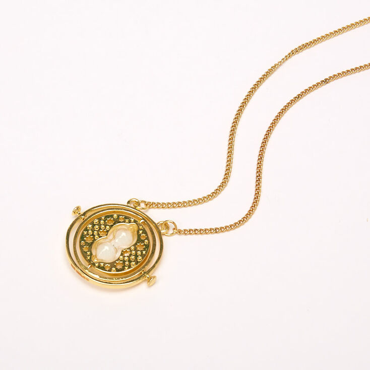 Harry Potter™ Time Turner Pendant Necklace - Gold,