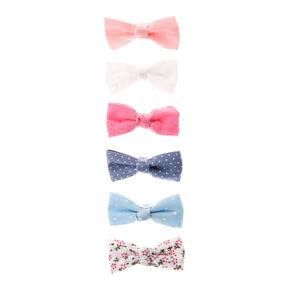 hair Clip Toddlers Small Pink//lemon  Hair Bow Clips Girls Glitter Hair Bow