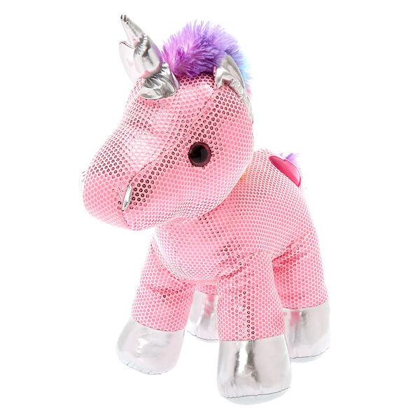 Claire's - club limited edition unicorn soft toy - 1