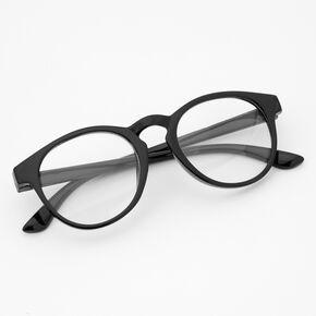 Claire's Club Round Black Lens Frames,