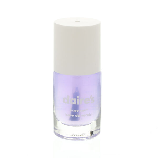 Claire's - clearbase coat nail polish - 1
