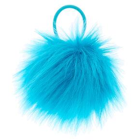 Aqua Pom Hair Elastic,