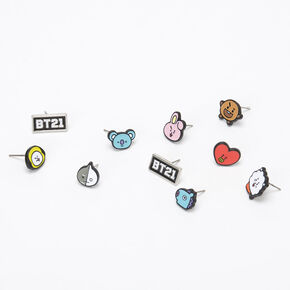 BT21© Earrings – 5 Pack,
