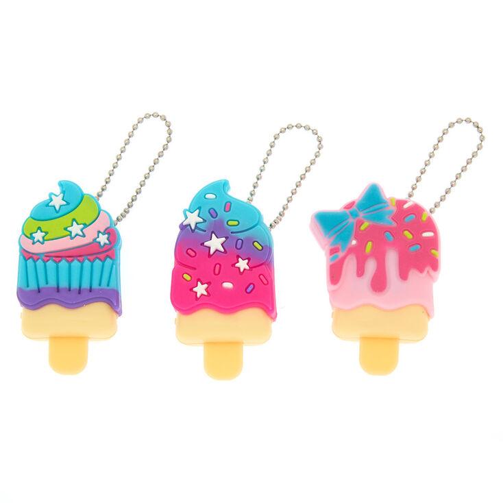 Pucker Pops Cupcake Sweets Lip Gloss - 3 Pack,