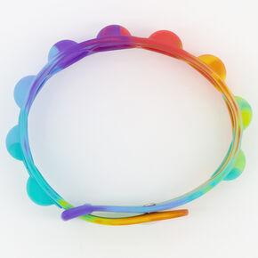 Push Poppers Bracelet Fidget Toy - Rainbow,