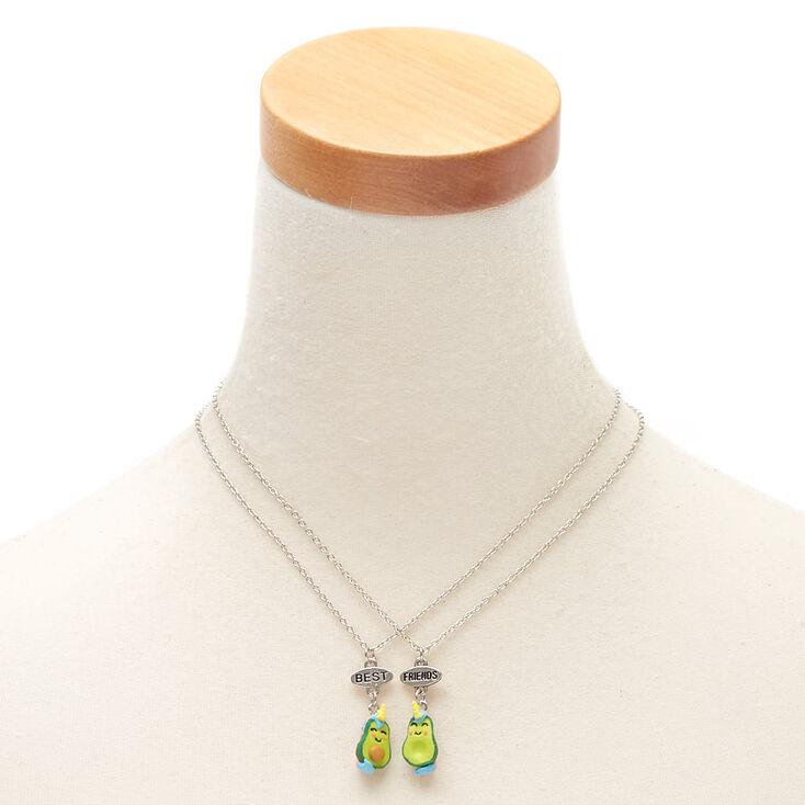 Avocado Unicorn Pendant Necklaces - Green, 2 Pack,