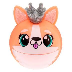 Queenie the Corgi Lip Gloss Pot - Peach,