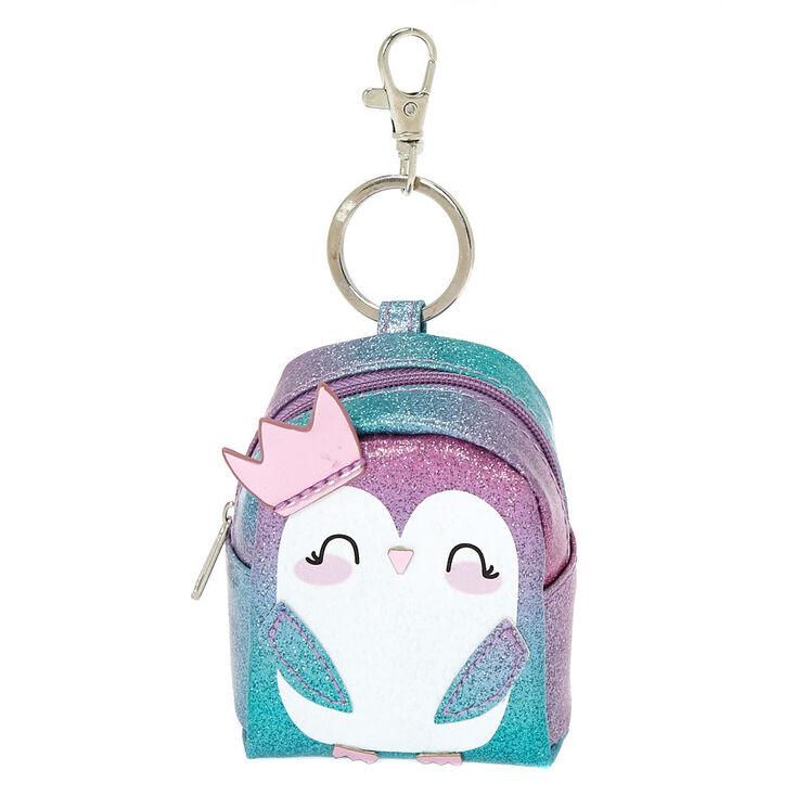 Princess Peyton The Penguin Mini Backpack Keychain