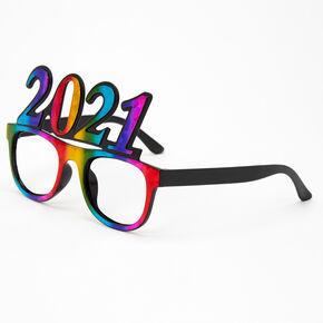2021 Rainbow Clear Lens Frames,