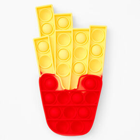 Pop Poppers French Fry Fidget Toy - Red and Yellow,
