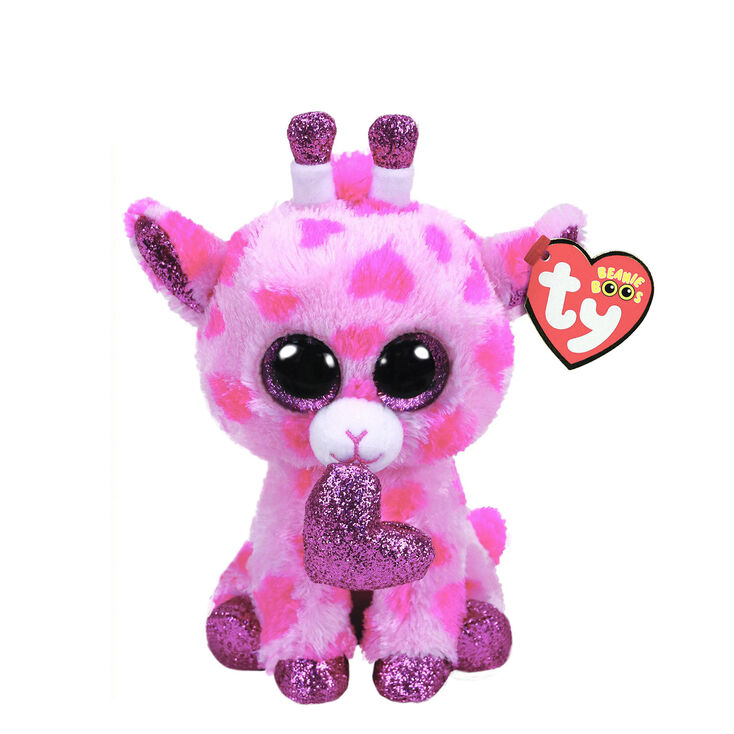 807786cda3f Ty Beanie Boo Small Sweetums The Giraffe Plush Toy Claire S Us
