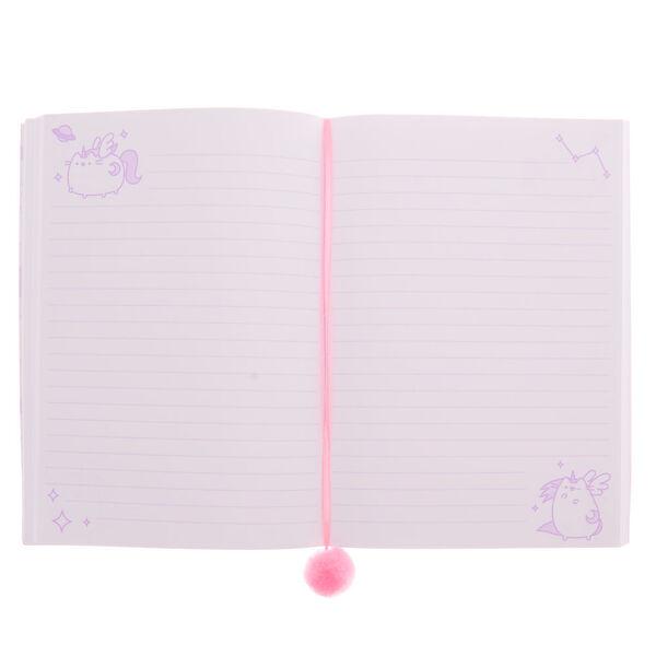 Claire's - pusheen holographic super pusheenicorn notebook - 2
