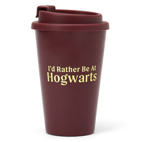 Mug de voyage « I'd Rather Be At Hogwarts » Harry Potter™ – Bordeaux,